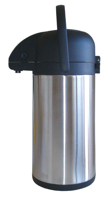 Maestro Rostfri Pumptermos 2,2 liter