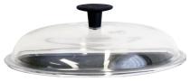 Round glass lid 18 cm