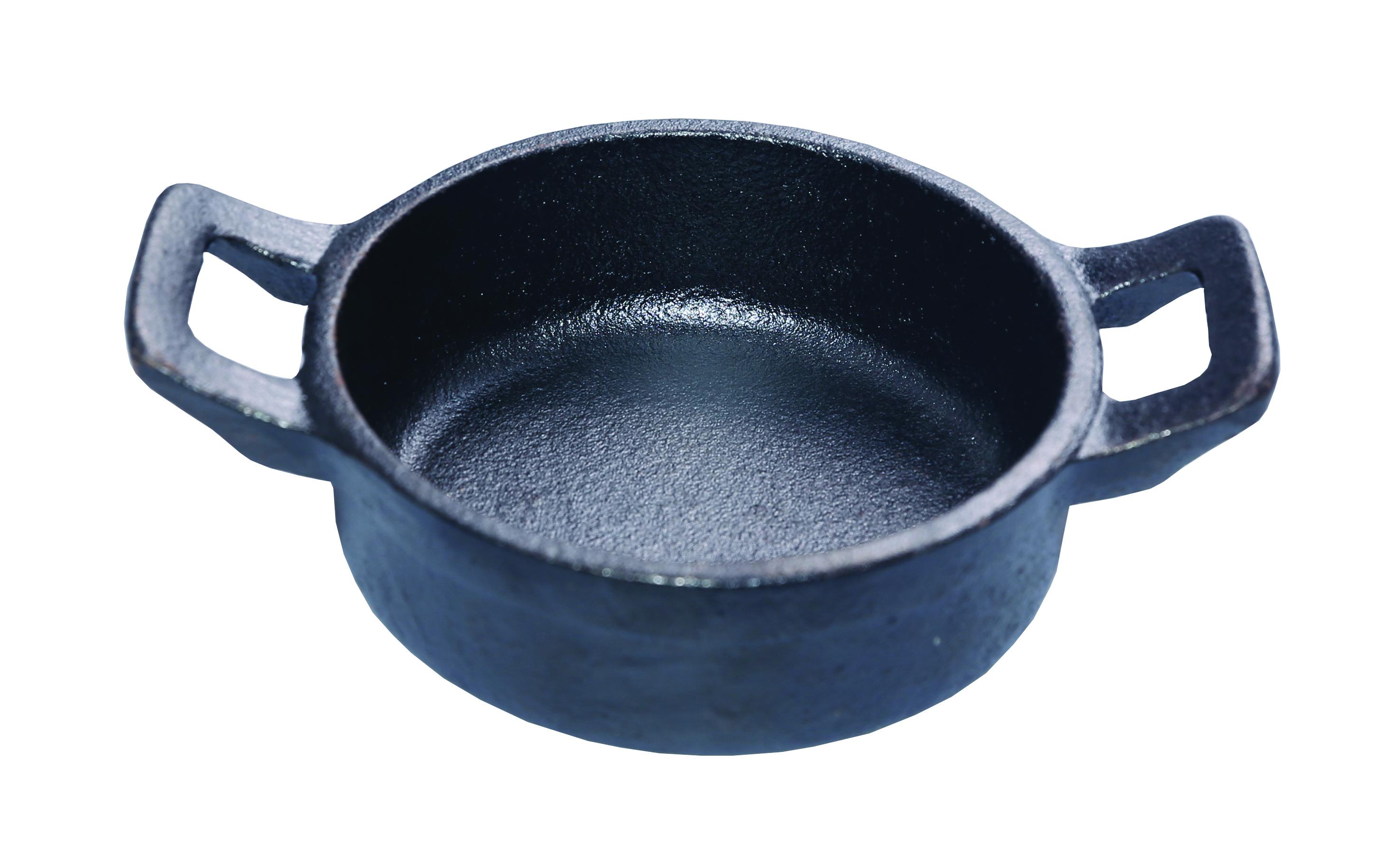 Round serving dish