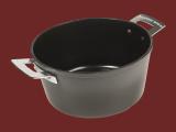 CERAMALJ stekgryta 4 liter grå