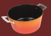 CERAMALJ stekgryta 4 liter orange